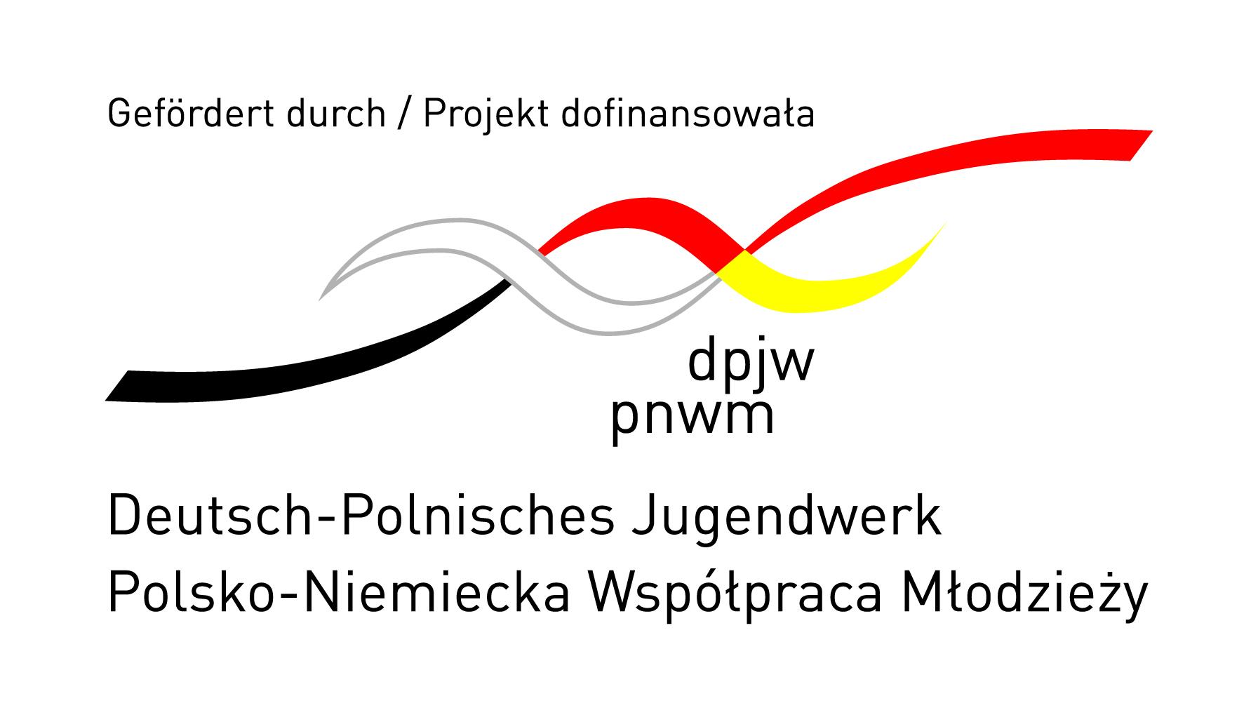 Logo Deutsch-Polnisches Jugendwerk